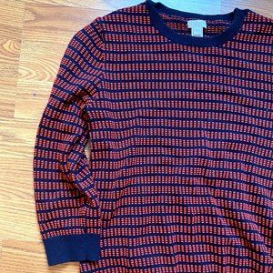 J Crew Patterned Sweater
